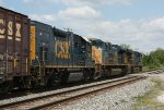 CSX 5485, 4841 and 1519